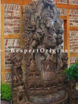 Buy Towering Ganesha Statue for Luxurious Homes and Gardens. At RespectOriigns.com