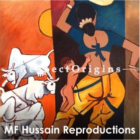 MF Hussain Reproduction